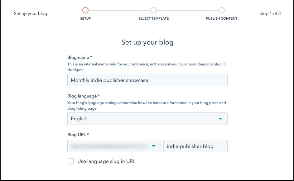 new-blog-creation-setup