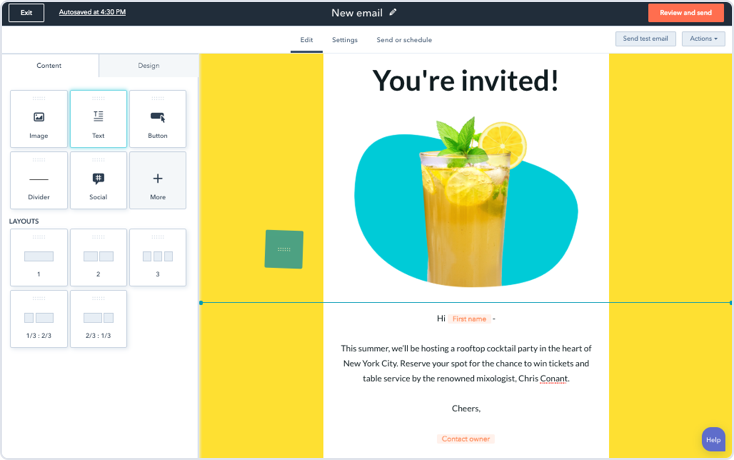 Get started with HubSpot's free email hosting.