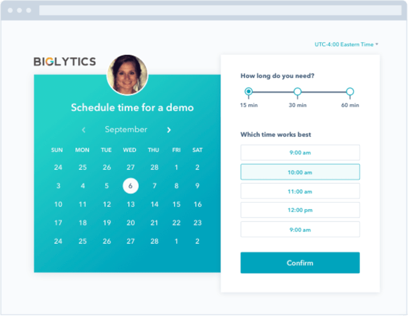 Get started with HubSpot's free scheduling software.