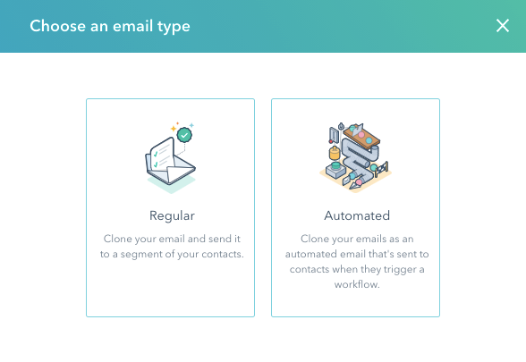 choose-an-email-type