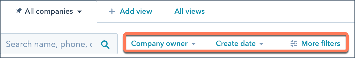 company-filters