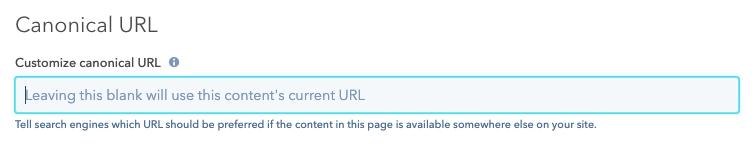 customize-canonical-URL