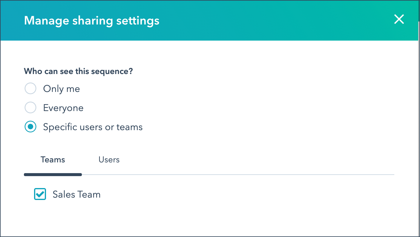 share-sequence-with-specific-teams