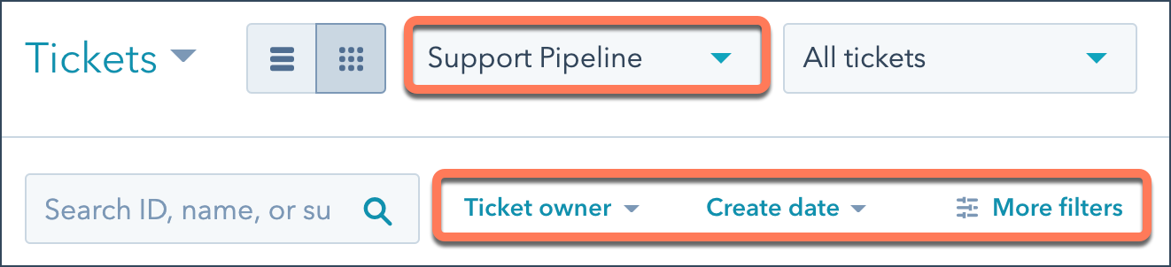 ticket-filters