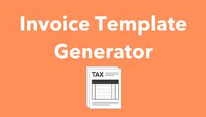 Invoice Template Generator