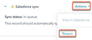 salesforce-resync