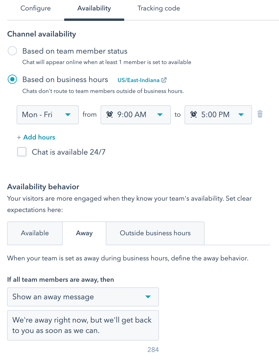 set-chat-availability-based-on-business-hours