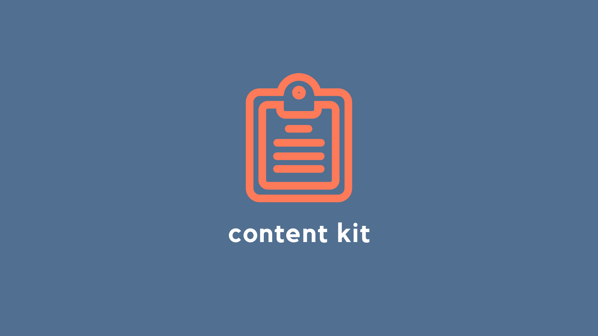 Startup Sales Content Kit