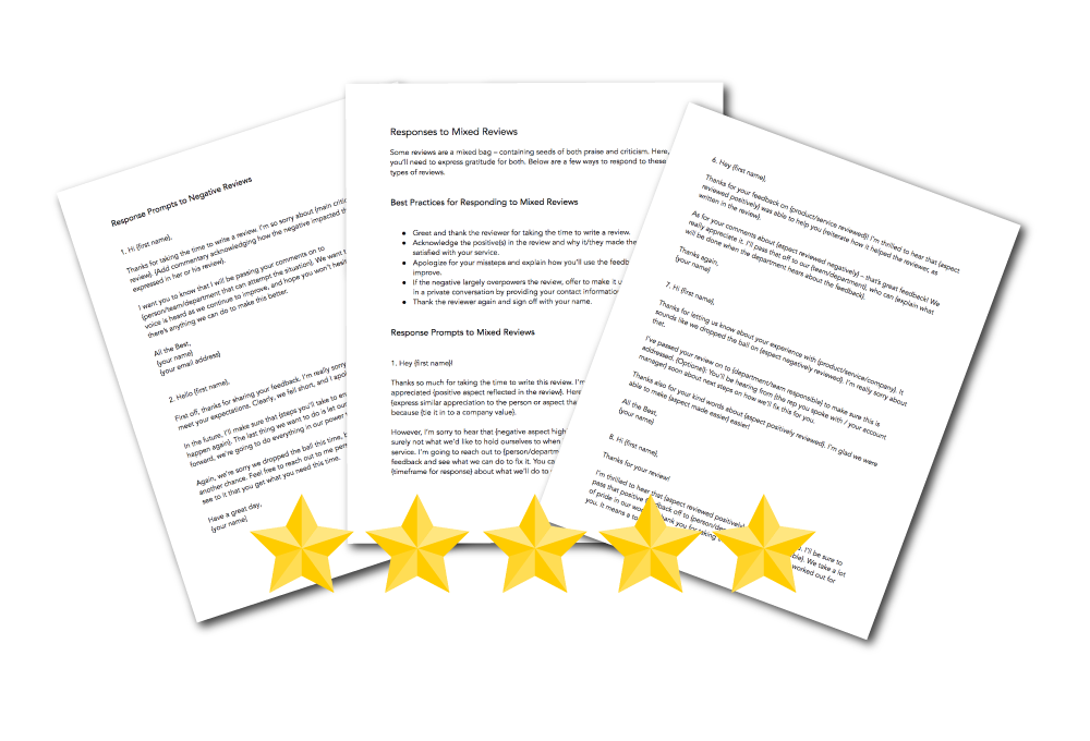 Free Review Response Templates