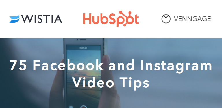 75 Facebook and Instagram Video Tips