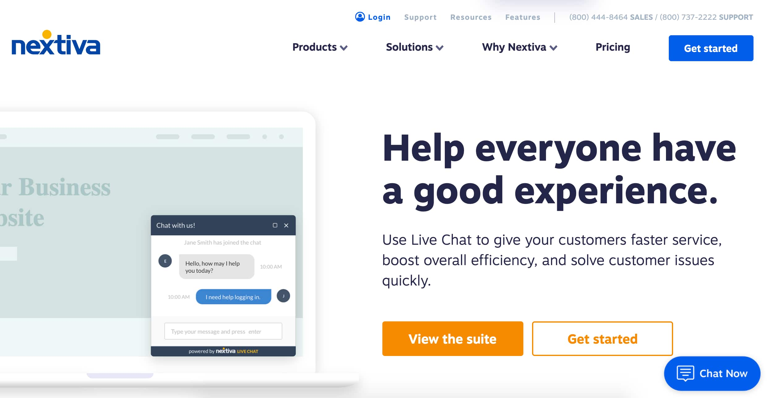 nextiva live chat software