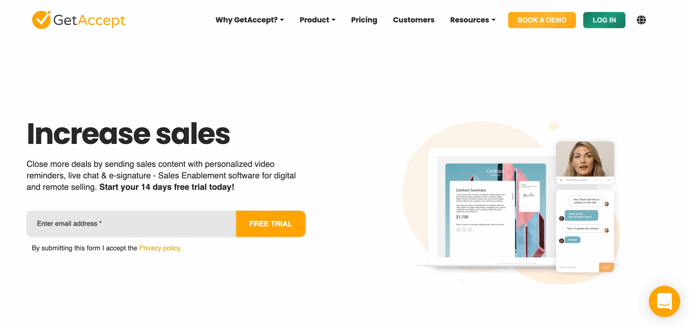 getaccept sales quotes software