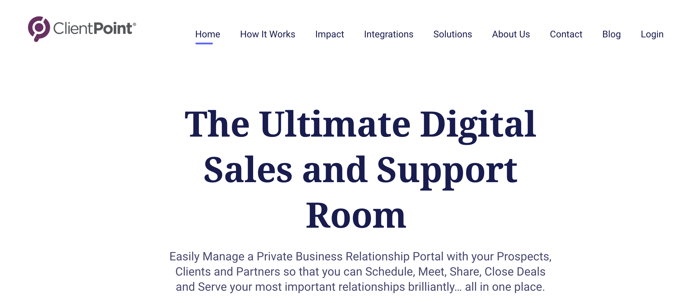 clientpoint sales quotes software