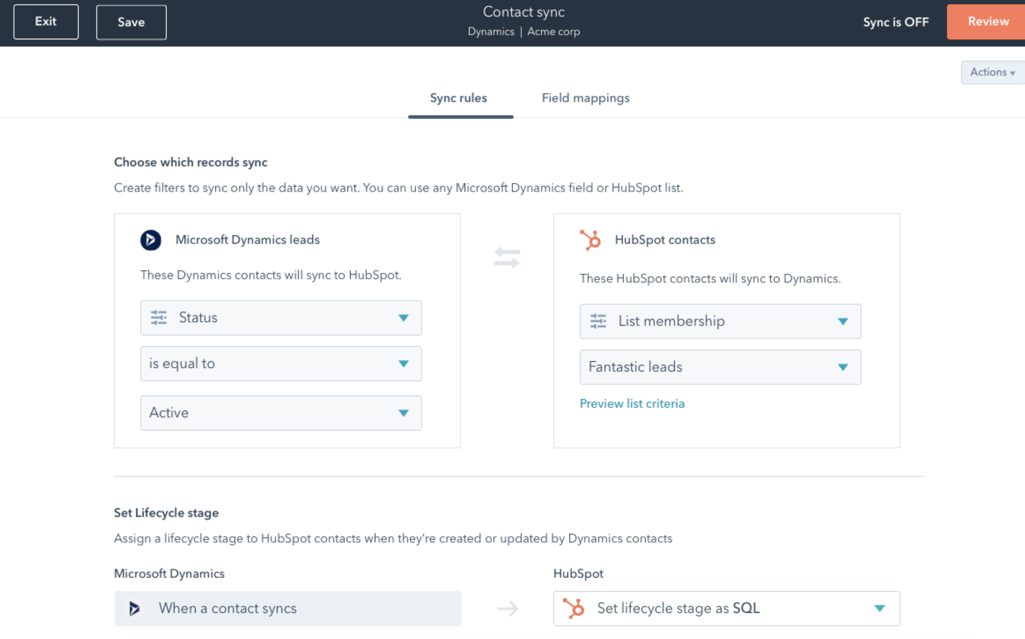 hubspot operations hub data quality analysis and management tool