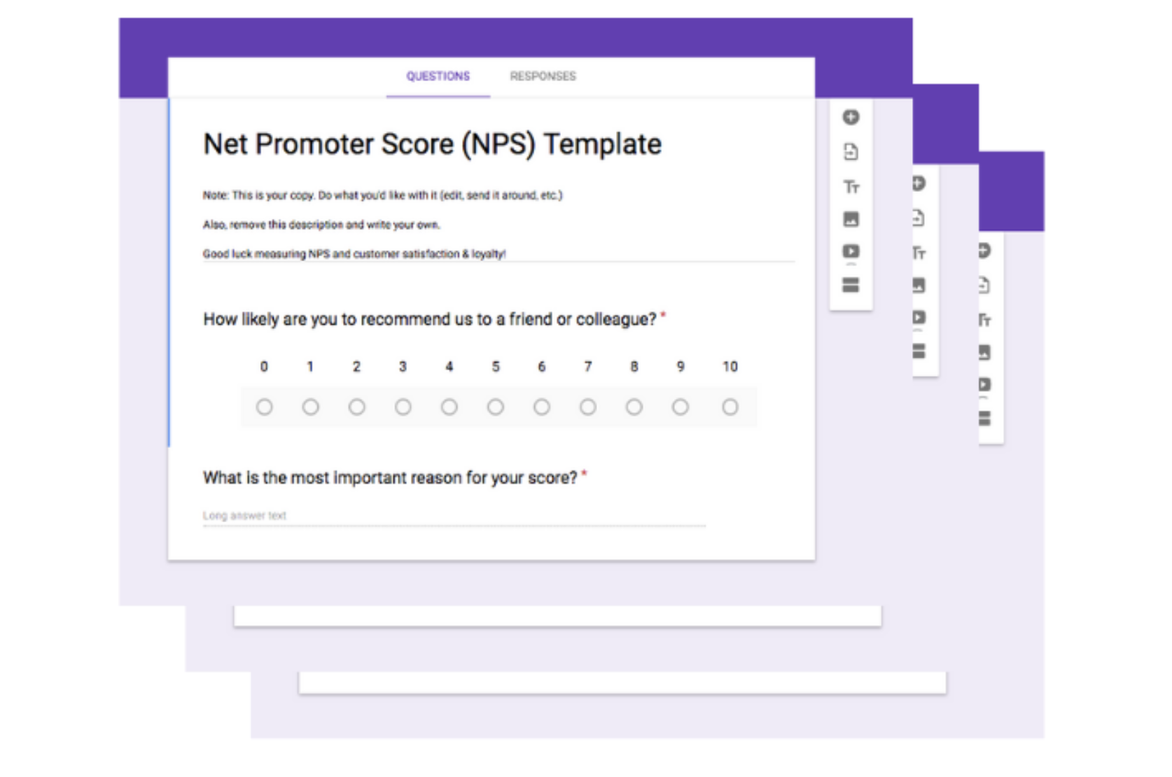customer survey templates