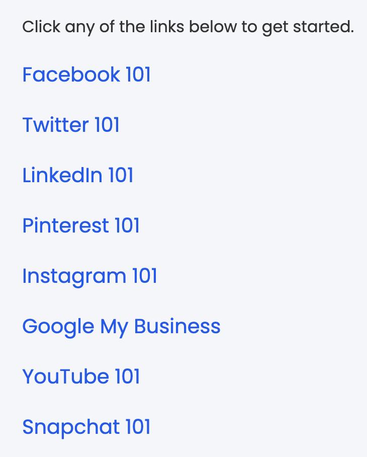 Social Media Training for Beginners