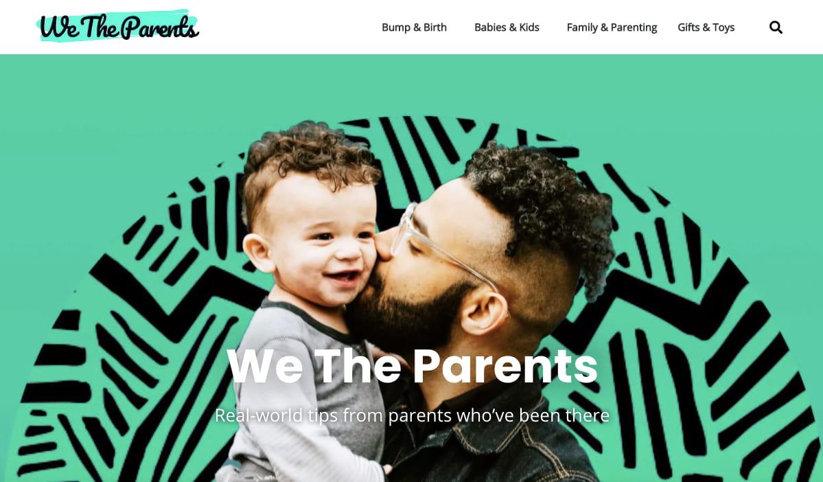 online portfolio: WordPress portfolio