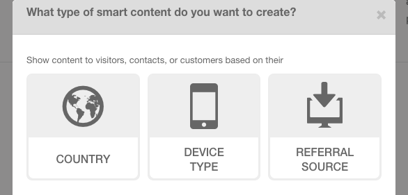HubSpot Smart Content for Anonymous Visitors