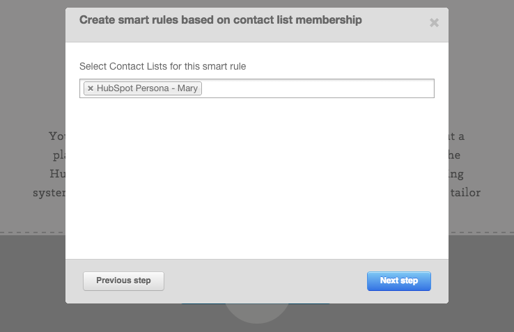 Personalize Content by Any Contact Prprerty in your Database
