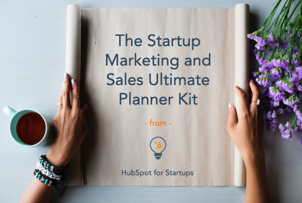Startup Marketing and Sales Planner Kit