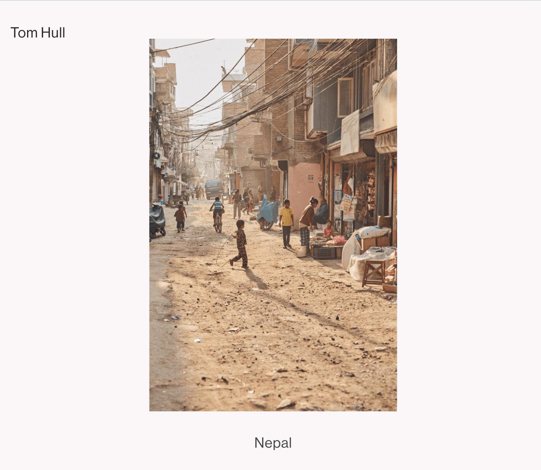 Tom Hulls photography portfolio