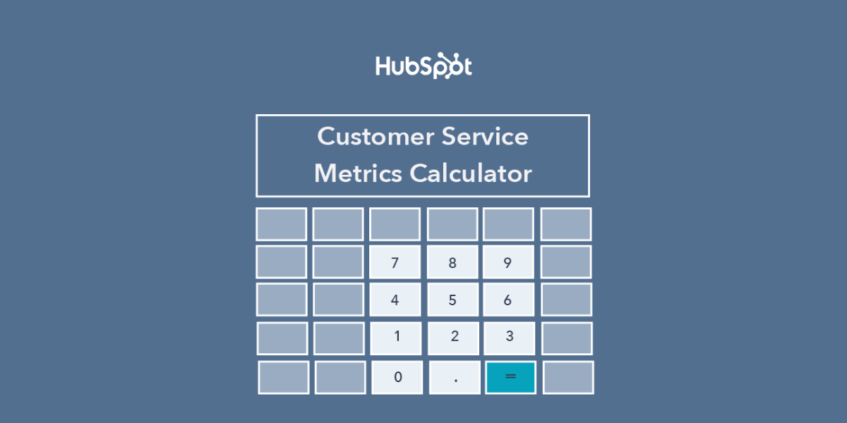 Customer Service Metrics Calculator