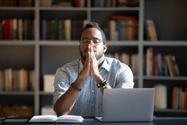 User exploring best church websites for inspiration