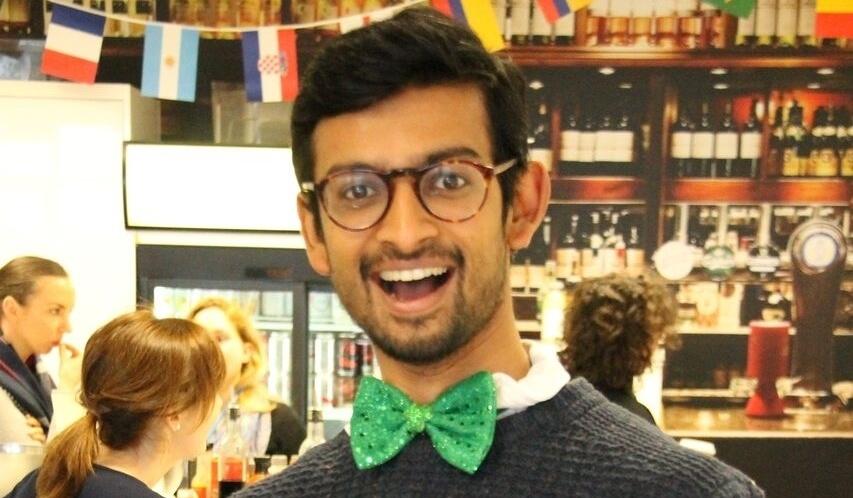 Vishnu in his Irish attire