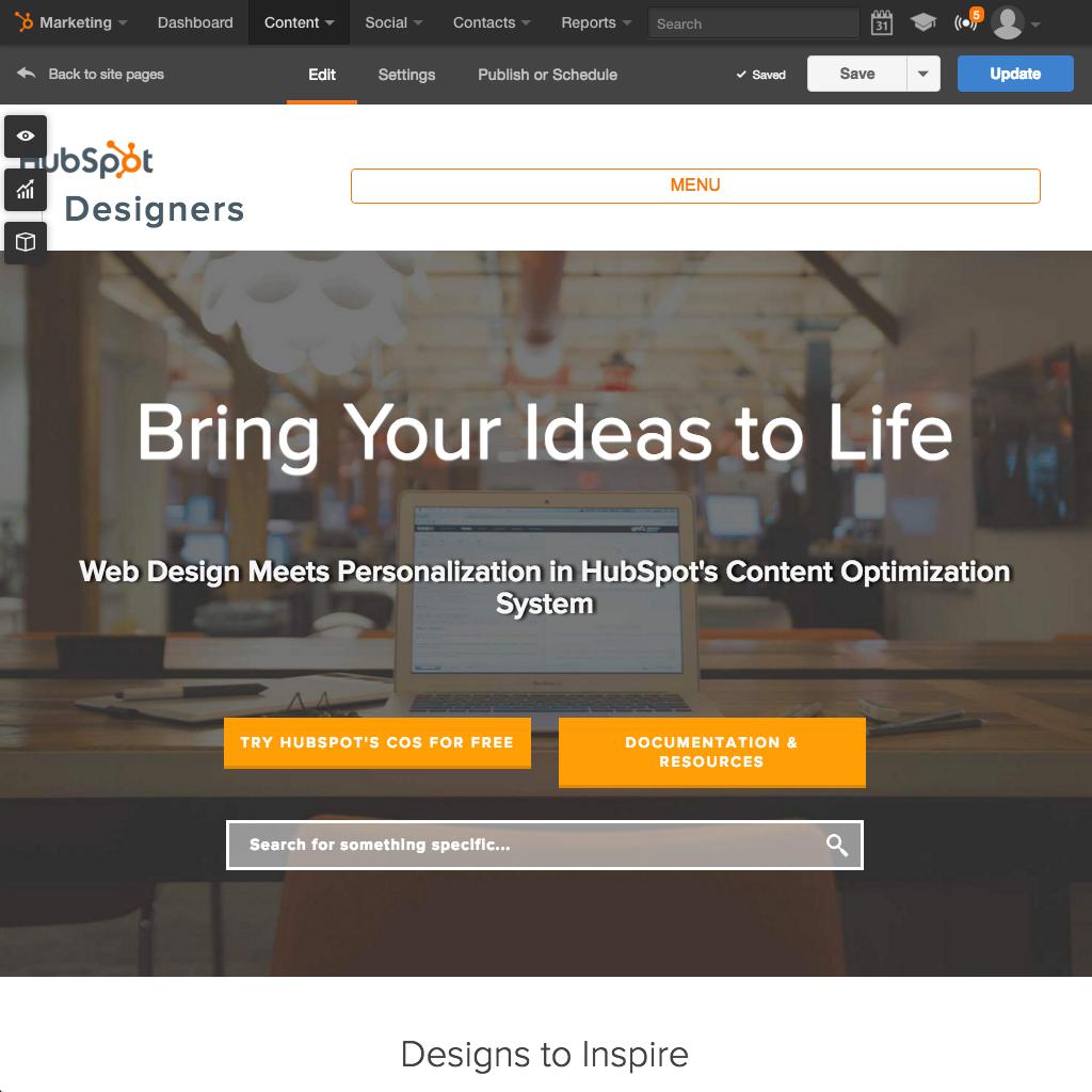 HubSpot Website Platform - Build an Easy to Use Website that Works