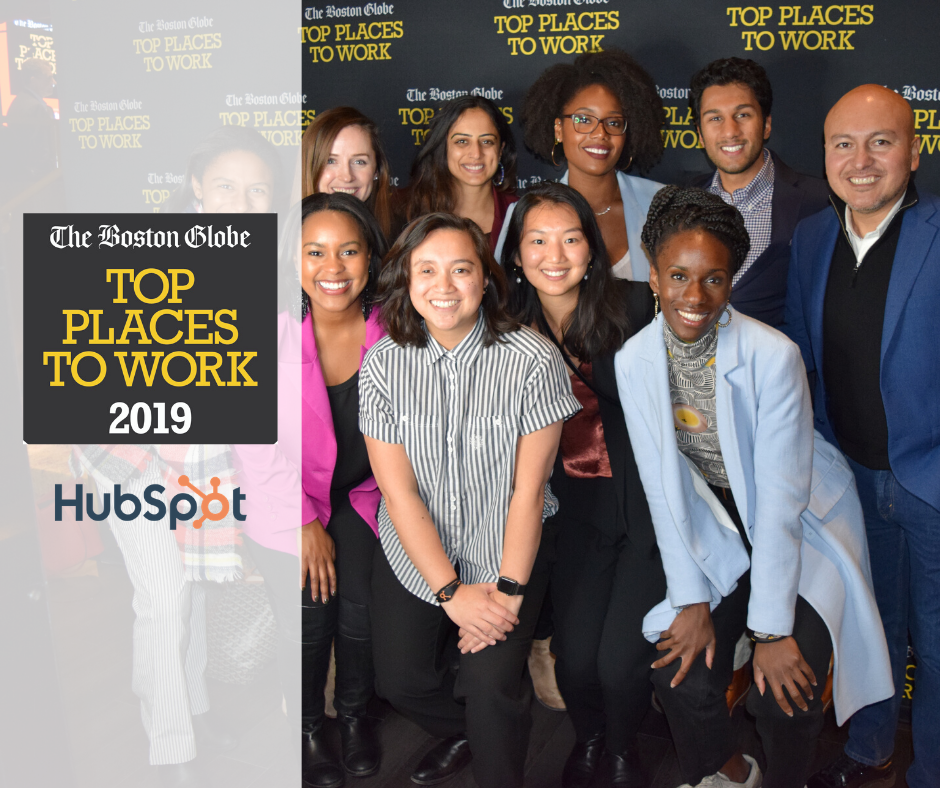 HubSpot Voted the #2 Top Place to Work in Massachusetts by The Boston Globe