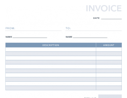 Free Basic Invoice Template For Pdf Excel Hubspot