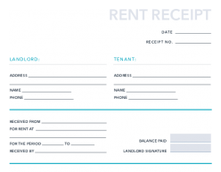 Free Rent Receipt Template For Pdf Excel Hubspot