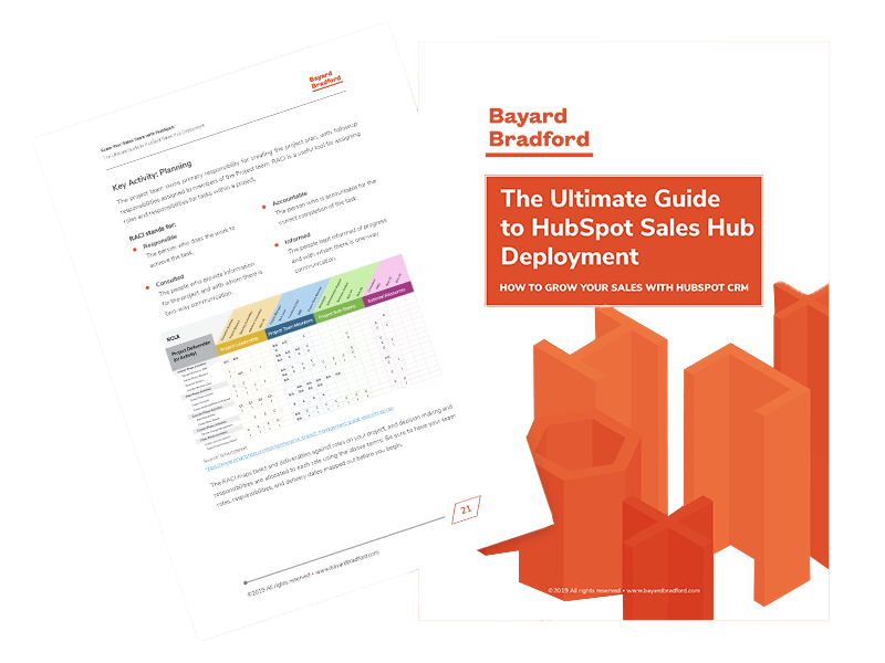 Guide to HubSpot Sales Hub Deployment