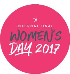 HubSpot International Women's Day Logo