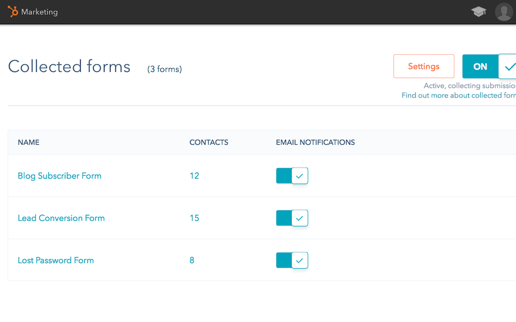 hubspot-marketing-free-collected-forms