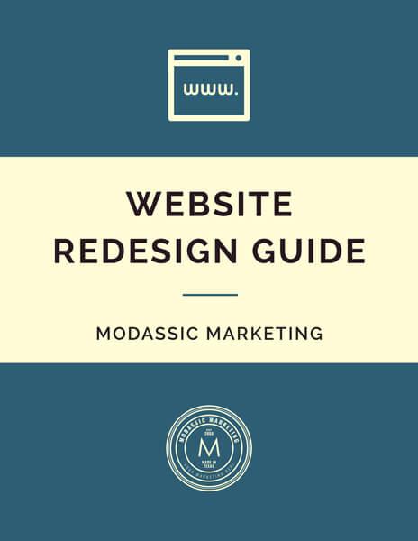 MODassic Marketing's Website Redesign Guide