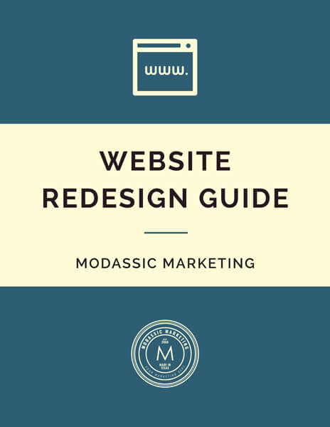 MODassic Marketing's Website Redesign Guide