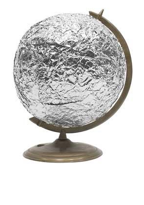 Picture: foil-globe