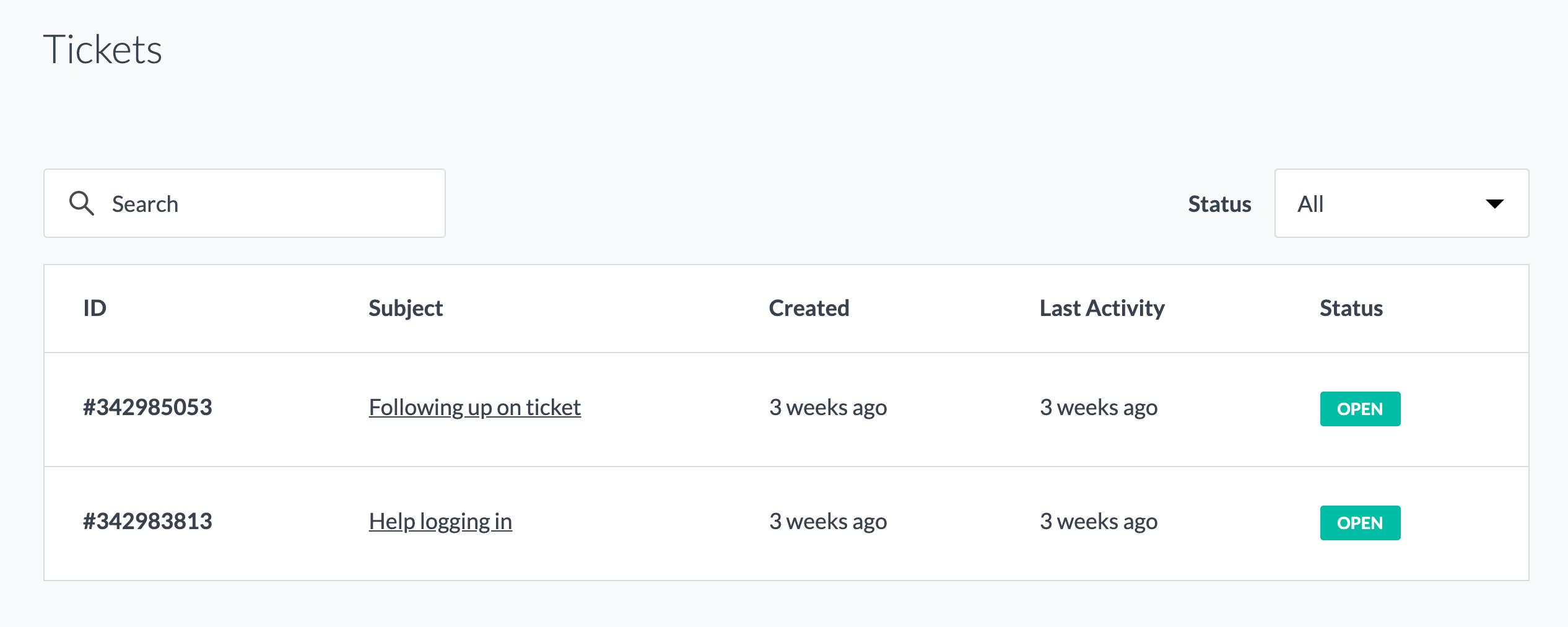 Como configurar um portal do cliente