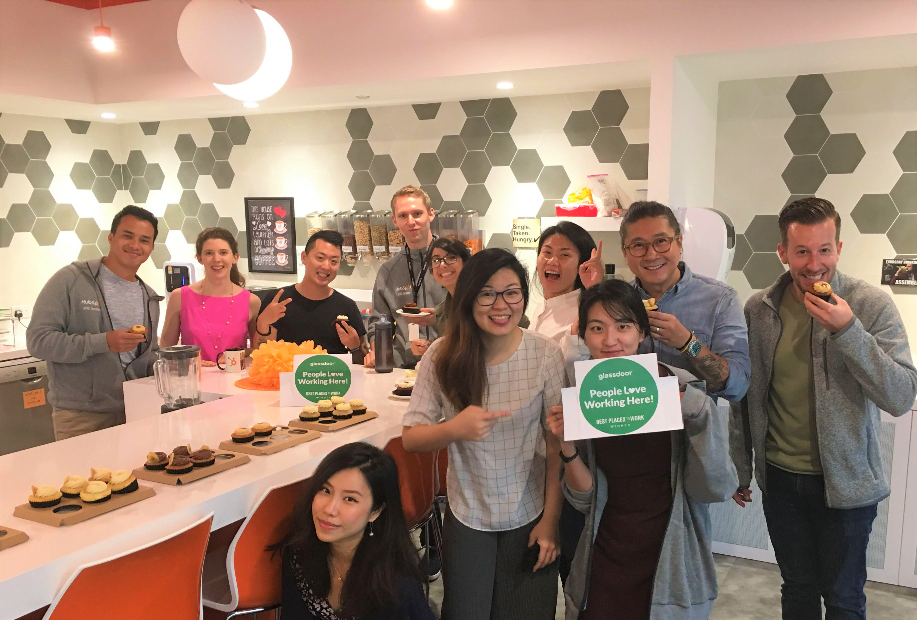 HubSpot Named the #8 Best Place to Work in Singapore in 2020 by the Glassdoor Employees' Choice Awards