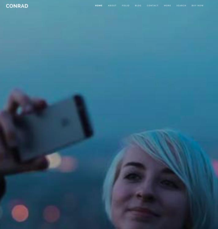 Conrad WordPress theme for Digital Agency