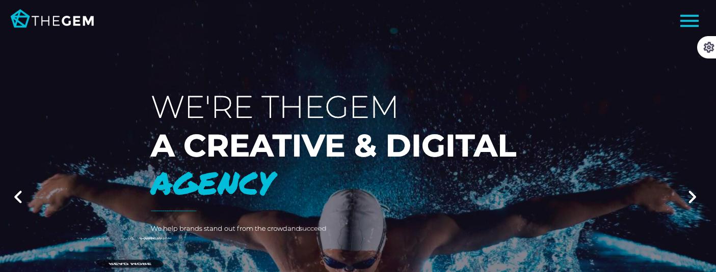 TheGem WordPress theme for digital agencies