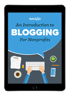 Free Ebook: An Introduction to Blogging for Nonprofits