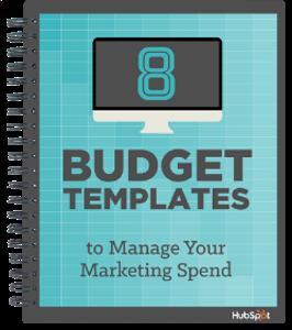 8 Marketing Budget Templates