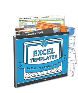 9 Excel Templates to Make Marketing Easier