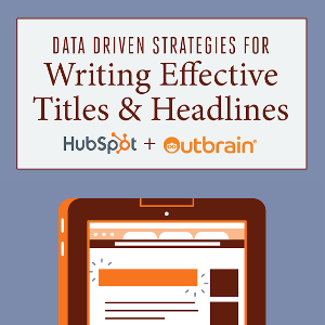 Data-Driven Strategies For Writing Effective Titles