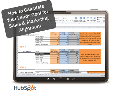 How to Calculate Your Leads Goal for Sales & Marketing Alignment