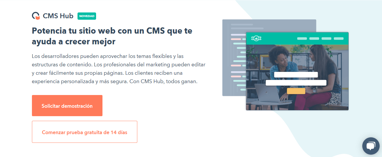 Programas de marketing de contenidos: CMS Hub