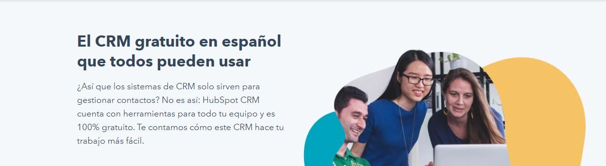 Mejores CRM cloud: HubSpot