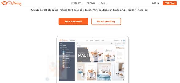 Programas de marketing de contenidos: PicMonkey